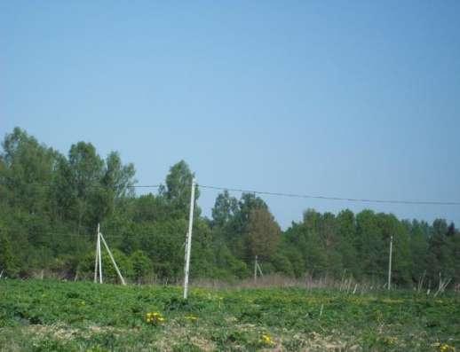 Продается земельный участок 12,5 соток (под ЛПХ) в деревне Тропарево, Можайский район, 110 км от МКАД по Минскому шоссе. Фото 1