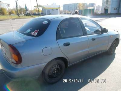 подержанный автомобиль Chevrolet Lanos