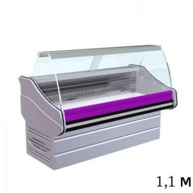 Холодильная витрина, 0...+6С, 1.1м