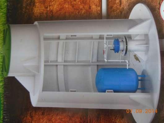 Кессон для скважины пластиковый