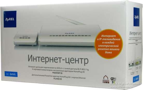 Интернет-центр Zyxel P660HWP EE Kit