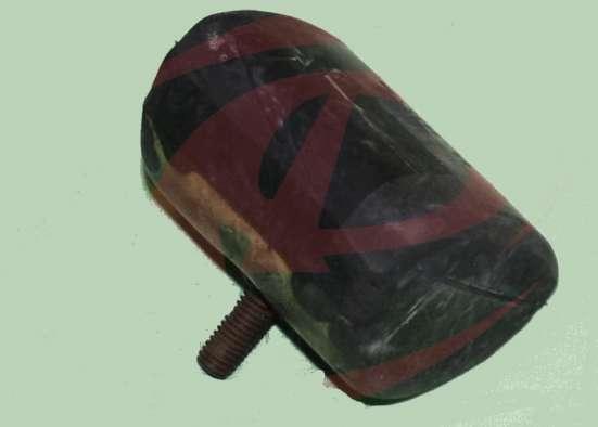 Подушка подрессорника Газель-3302 задняя (отбойник)