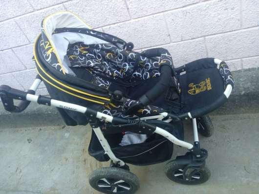 Детская коляска SONIC (3 в 1) в г. Алматы Фото 1