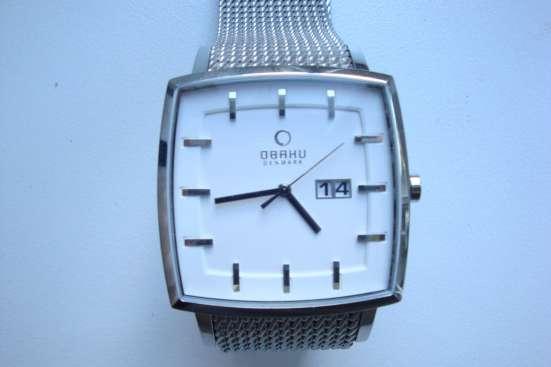 Часы OBAKU кварцевые, Дания. Новые. Минеральное стекло, 3атм