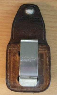 Чехол из натуральной кожи для классической зажигалки Zippo