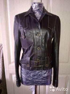 Куртка новая натуральная кожа