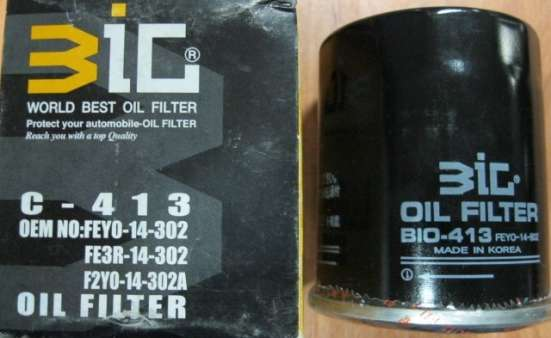 Фильтр масляный C-413 BIG