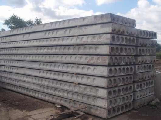 Плиты перекрытия ПК различных размеров