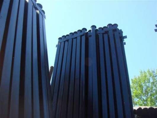 Столбы металлические КАЧЕСТВЕННО НАДЕЖНО