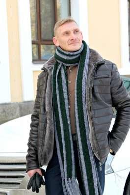 Мужской длинный шарф в стиле casual (кэжуал) в Санкт-Петербурге Фото 3