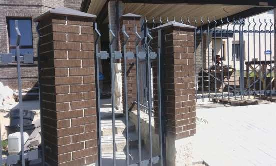 Заборы козырьки навесы ворота металлоконструкции в г. Минск Фото 4