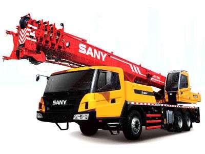 Услуги автокрана SANY 30 т