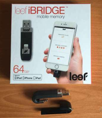 USB-накопитель Leef iBridge 64 Gb для Apple