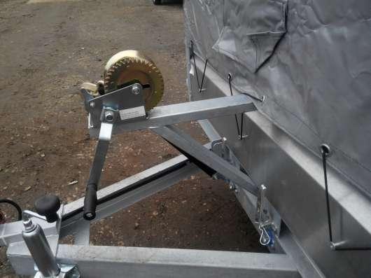 Прицеп легковой 3.5х1.4м Трейлер 829450 оцинкованный