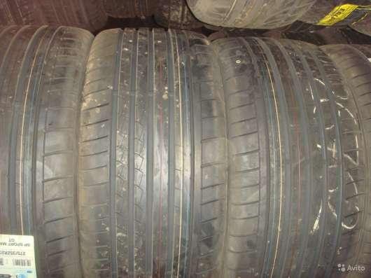 Новые Dunlop 245/45 R18 Sport Maxx GTx ROF MFS