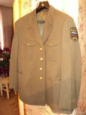 Китель офицера пожарной охраны МВД Росси