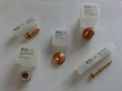 """Расходные материалы для плазменной резки """"B&Bartoni"""" HPRXD"""