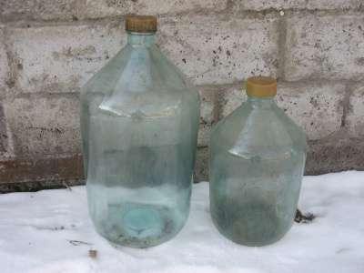стеклянная бутыль