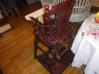 Старинный   детский  стульчик