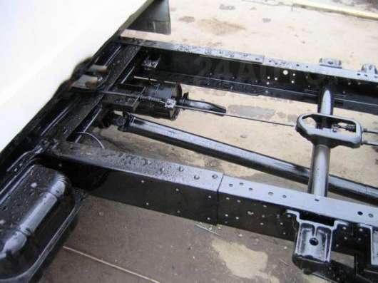 Изготовление и ремонт рам, подрамников грузовых авто