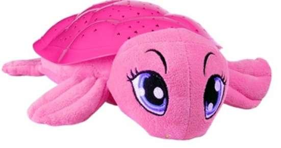 Проектор-ночник Черепаха Бонни новый розовый Сундучок
