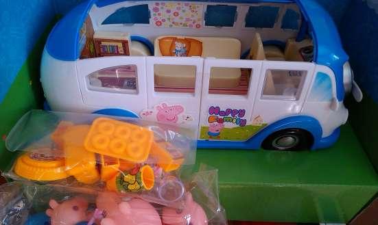 Купить Автобус Свинка пеппа В Омске. Новые игрушки