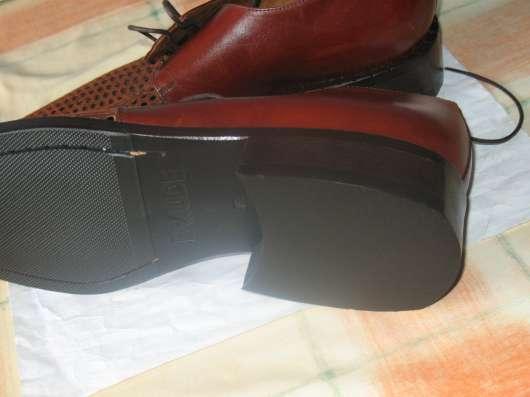 Мужские кожаные ботинки элитного бренда BRAUDE Италия в Москве Фото 2