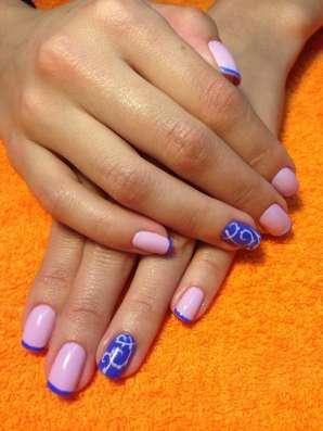 Маникюр, педикюр с покрытием гель-лак, восстановление ногтей в Екатеринбурге Фото 1