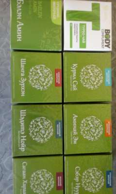 Целебные чай из трав Ольхона