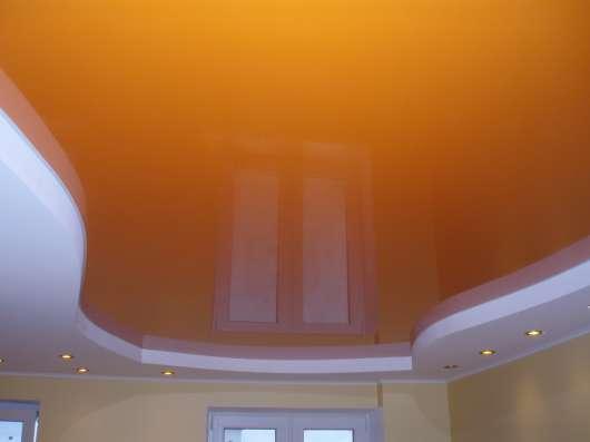 Натяжные потолки одноуровневые и многоуровневые