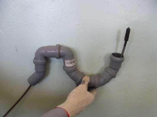 Трос сантехнический для прочистки канализации