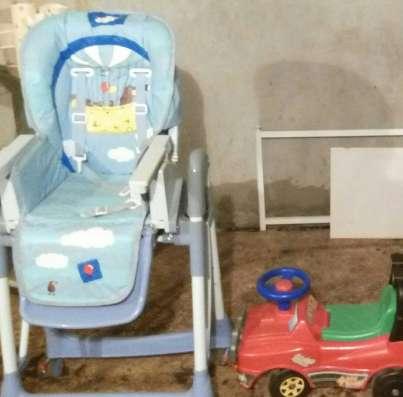 Детская коляска 2 в 1, стульчик для кормления в Москве Фото 2