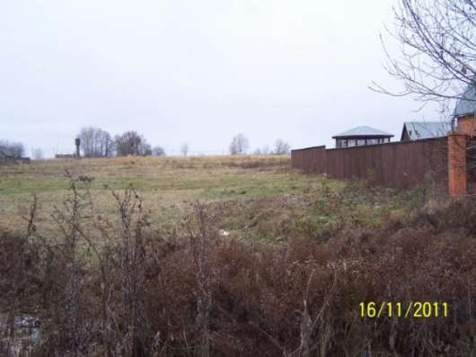 Продается земельный участок 12 соток ЛПХ в д. Троица, Можайском р-он,119 км от МКАД по Можайскому шоссе.