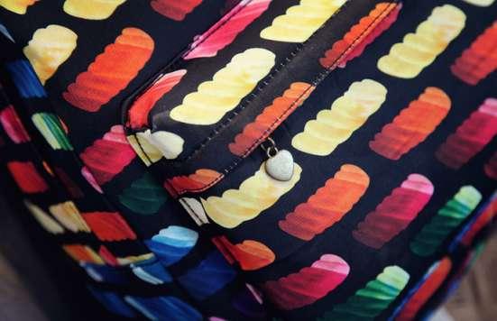 Рюкзак городской Bricks разноцветный цветной в г. Запорожье Фото 2