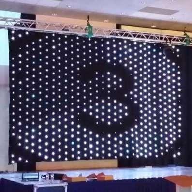 Светодиодный видео занавес 6х4 P20 DMX в Краснодаре Фото 1