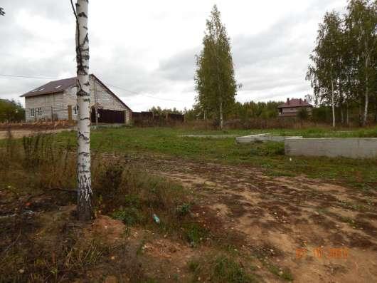Зем. участок 14 соток, с фундаментом, коммуник. по границе в Смоленске Фото 2