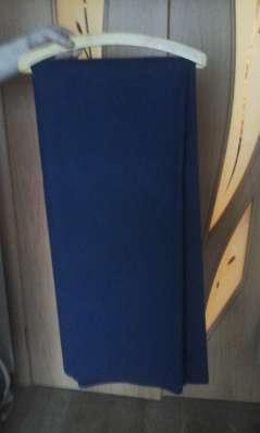 Отрез ткани на пальто, драп цвет синий