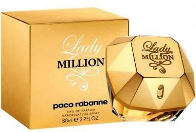 Lady Million Paco Rabbane 80 ml новый