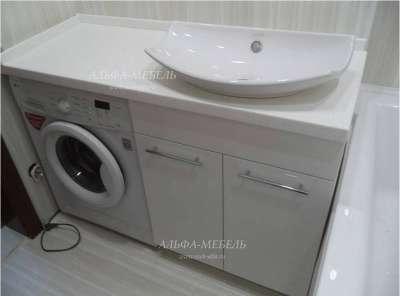 Мебель для ванной на заказ Альфа-Мебель в г. Самара Фото 1