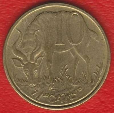 Эфиопия 10 центов 2002 / 2010 г.