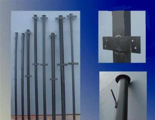 Металлические столбы в Саратове Фото 4