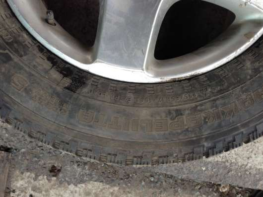 Автомобильные шины в сборе с дисками б/у