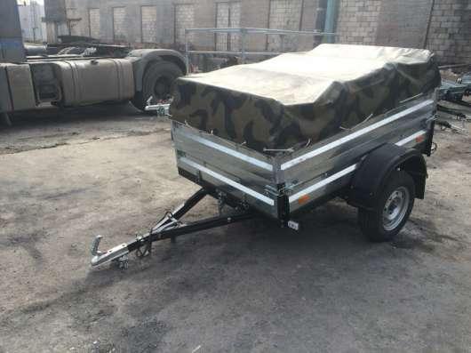 Легковой прицеп автомобильный КМЗ 20A Комуфляж в Москве Фото 2