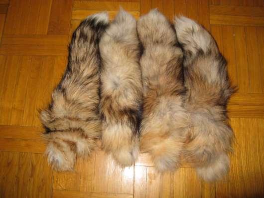 Натуральные меховые хвосты в Москве Фото 3