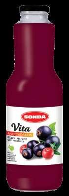 Соки натуральные Sonda vita в ассортименте