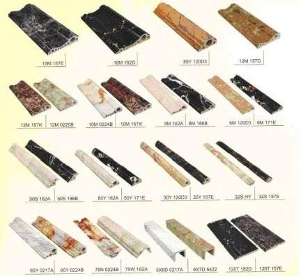 Декоративные багеты, фризы (плинтусы) шириной 80мм