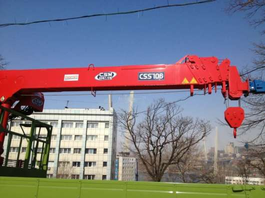 Запчасти на краны Machinery CSS106, CSS186