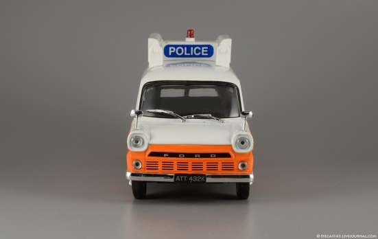 Полицейские машины мира №26 FORD TRANSIT MK1 в Липецке Фото 4