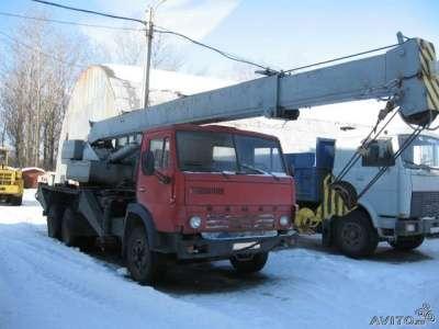автокран КАМАЗ 53212 в Санкт-Петербурге Фото 2