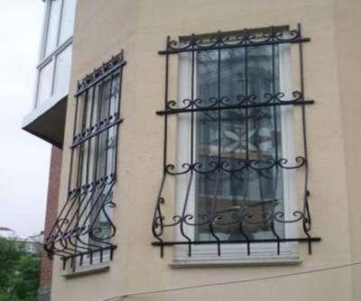 """Решетки на окна под заказ """"ГРАД"""" оконные решётки в г. Самара Фото 2"""